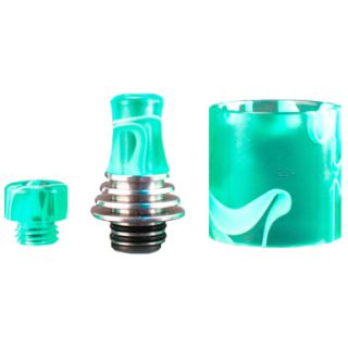 Vapefly - Brunhilde MTL RTA DripTip Set (short + long)...