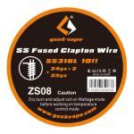 Geek Vape - SS Fused Clapton Wire | SS316L | 24ga*2 +...