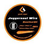 Geek Vape - Juggernaut Wire Kanthal A1 | 28ga+38ga*2 +...