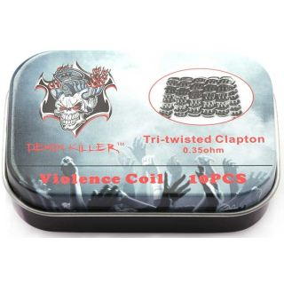 Demon Killer - Tri twisted Clapton 0,35ohm Violence Coil...