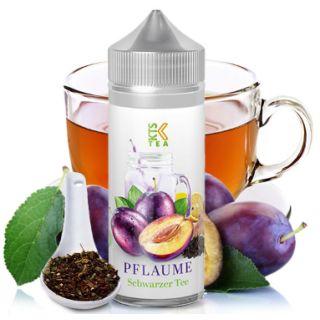 KTS Line - Pflaume Schwarzer Tee | 30ml Aroma in 120ml Flasche