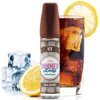 Dinner Lady Ice - Cola Shades (Cola, Zitrone, Koolada) | 20ml Aroma in 60ml Flasche