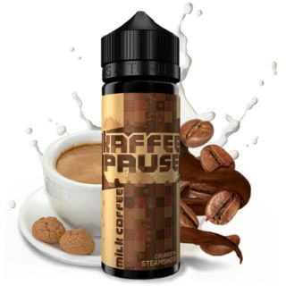 Steamshots - Kaffeepause Milchkaffee | 20ml Aroma in...
