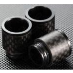 810er DripTip in Carbon-Schwarz