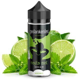 Gedankenlos - Mojito Mint Dream   20ml Aroma in 120ml Flasche