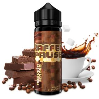 Steamshots - Kaffeepause Robusta Schoko | 20ml Aroma in...