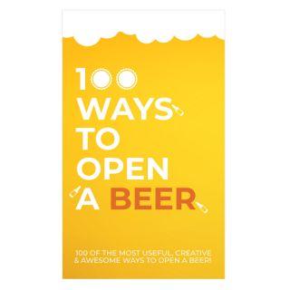 Gift Republic - 100 Wege ein Bier zu öffnen