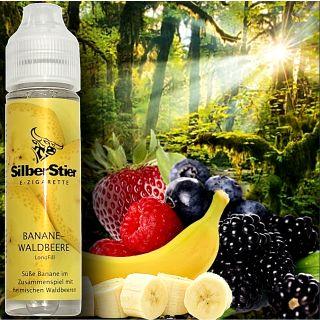 SilberStier - Banane & Waldbeere | 10ml Aroma in 60ml Flasche