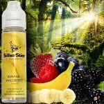 SilberStier - Banane & Waldbeere | 10ml Aroma in 60ml...
