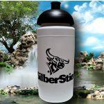 SilberStier - Sportflasche Plus Grip mit gewölbtem...