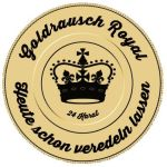 Goldrausch Royal - DripTip Günther Edelstahl