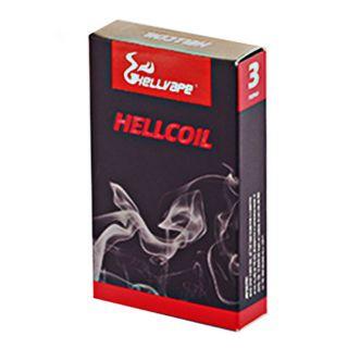Hellvape - 3er Pack 424 RTA Quad OCC Hellcoil | 0,15ohm |  H7-03 | 60W - 80W