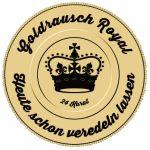 Goldrausch Royal - DripTip 510 MTL | Größe S | DT Weiß | 1505/7