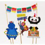Winkee - Wild Party Dekorations Set für Kuchen