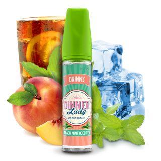 Dinner Lady Drinks - Peach & Mint Iced Tea (Pfirsich, Minze, Eistee) | 20ml Aroma in 60ml Flasche