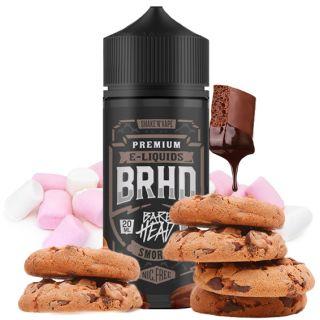 Bare Head BRHD - Smores (Marshmallows, Vollmilch Schokolade, Butterkeks) | 20ml Aroma in 100ml Flasche