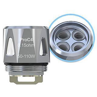 Joyetech - 5er Pack ProC4 Coils   0,15ohm   50W - 110W