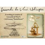 Fun Trading - Leonardo da Vinci Hubschrauber Holzbausatz