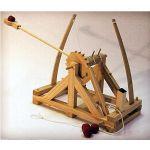 Fun Trading - Leonardo da Vinci Katapult Holzbausatz