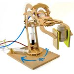 Fun Trading - Hydraulischer Roboterarm mit flüssiger...