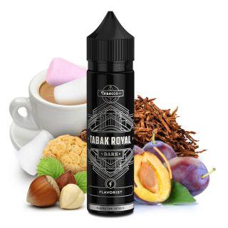 Flavorist - Tabak Royal Dark (kräftiger Tabak, Pflaume, Espresso, Marshmallows, Haselnuss, Keks)    15ml Aroma in 60ml Flasche