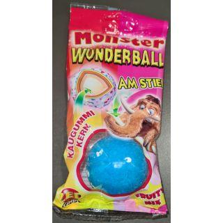 ZED Candy - Monster Wunderball am Stiel und Kaugummi im Kern | Frucht Mix