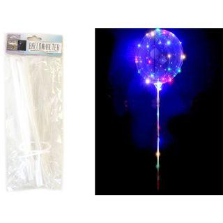 G&M - Fantastic Balloon (Fantastischer Ballon) mit Halterung und Lichterkette (ohne AA Batterien)   Geeignet für: Luftfüllung