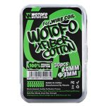WoToFo - Xfiber Cotton Wattesticks | 30 Stk. mit 60mm u....