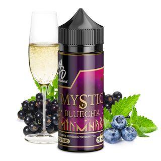 Flaschendunst - Mystic Bluecha (Süß-säuerlicher Sekt, Blaubeere, schwarze Johannisbeeren, Minze)   20ml Aroma in 100ml Flasche