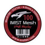 Imist - SS316L Mesh Wire 100 Wickeldraht | 6.8mm x 3000mm