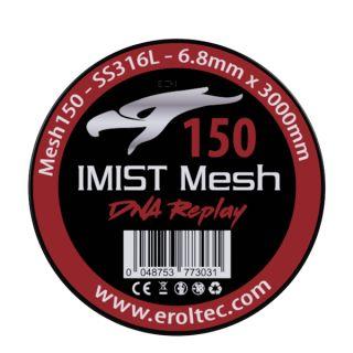 Imist - SS316L Mesh Wire 150 Wickeldraht   6.8mm x 3000mm
