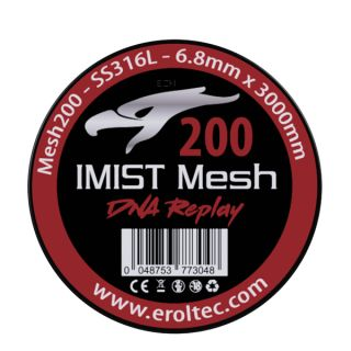Imist - SS316L Mesh Wire 200 Wickeldraht   6.8mm x 3000mm