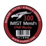 Imist - SS316L Mesh Wire 300 Wickeldraht | 6.8mm x 3000mm