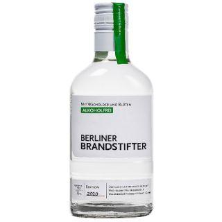 Berliner Brandstifter No Gin Alkoholfrei (Wacholder, Holunderblüte, Waldmeister, Hagebutte, Birke, Gurke) | 35cl | Edition 2020