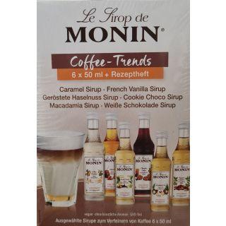 Le Sirop de Monin - Gourmet Mini Kaffeesirup Bundle 3cl | Vegan | GVO-frei