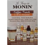 Le Sirop de Monin - Gourmet Mini Kaffeesirup Bundle 3cl |...