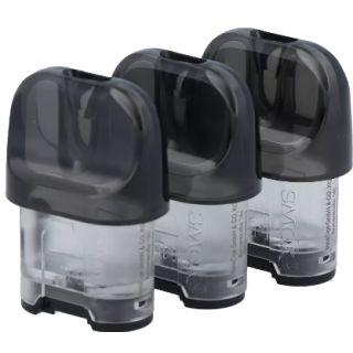 Smok - 3er Pack Novo 4 Pod Tank mit 2ml Füllvolumen (Leer/Empty)