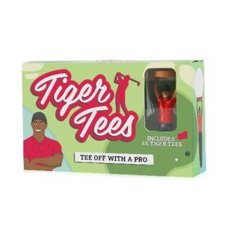 Gift Republic - Tiger Tees Golfballhalter | 4 Stk.