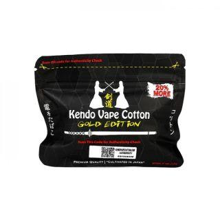 100% Bio Kendo Vape Cotton Gold Edition 20% mehr/more 12g