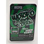 WoToFo - 100% Organic XFiber Cotton | 10pcs | 60mm |...