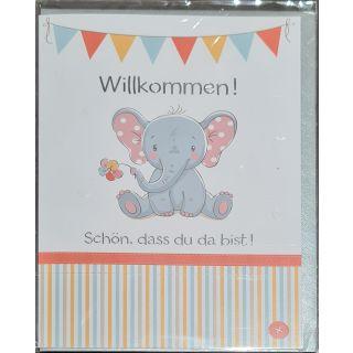 zur Geburt: Willkommen auf der Welt (Elefant)